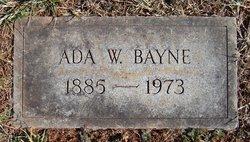 Ada J <i>Weaver</i> Bayne
