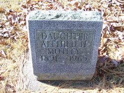 Alfhild Astrid <i>Hammar</i> Motley