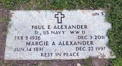 Margie Anna Annie <i>Brown</i> Alexander