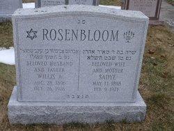 Sadye <i>Rosenberg</i> Rosenbloom