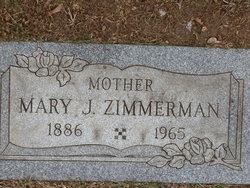 Mary J Zimmerman