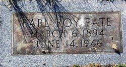 Earl Roy Pate