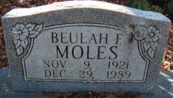Beulah F Moles
