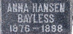 Anna <i>Hansen</i> Bayless