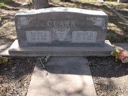 Maude M <i>Sublett</i> Clark
