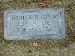 Dorothy B Atkins
