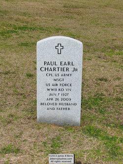 Sgt Paul Earl Chartier, Jr