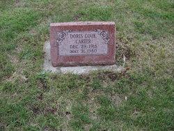 Doris E. <i>Cook</i> Carter