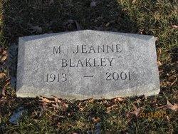 Margaret Jeanne Blakley