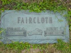 Tommie Golda <i>Mathis</i> Faircloth