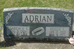 Clarence L. Adrian