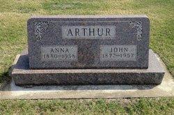 Anna <i>Peters</i> Arthur