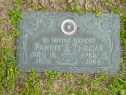 Fanny E. Thomas
