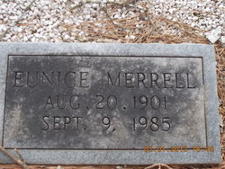 Eunice Beatrice <i>Merrell</i> Acree