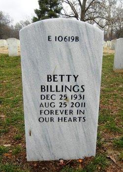 Betty Jean Billings