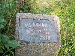Mary Ann <i>Hill</i> Allton