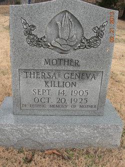 Theresa Geneva Geneva <i>Sharp</i> Killion