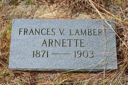 Frances V. <i>Lambert</i> Arnette