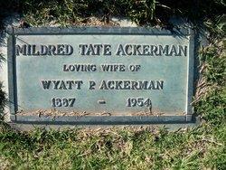 Mildred <i>Tate</i> Ackerman