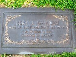 Bert J Warden