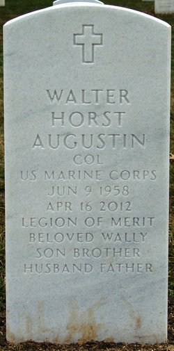 Col Walter Horst Wally Augustin