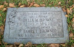 Della May <i>Barrick</i> Browne