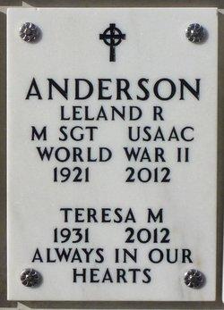 Leland R Anderson