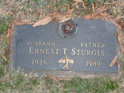 Ernest T Sturgis
