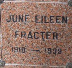 June Eileen <i>Dunbar</i> Fracter