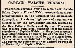 Capt Edward Walsh