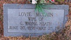 Lovie <i>McCain</i> Heath