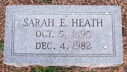 Sarah E Heath