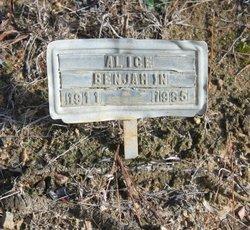 Alice Benjamin