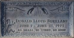 Donald Lloyd Burkland