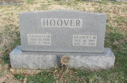 Frances M <i>Moseley</i> Hoover