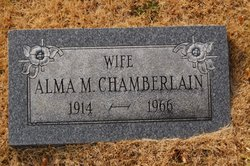 Alma M <i>Wilt</i> Chamberlain