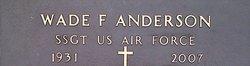 Wade F Anderson