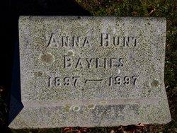 Anna <i>Hunt</i> Baylies