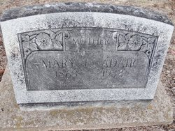 Mary E <i>Mattox</i> Adair