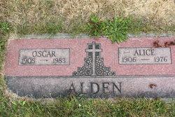 Alice B.E. <i>Nordquist</i> Alden