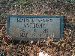 Beatrice <i>Lanning</i> Anthony