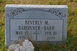 Beverly M. <i>Eyer</i> Barr