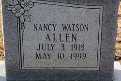 Nancy Elizabeth <i>Watson</i> Allen