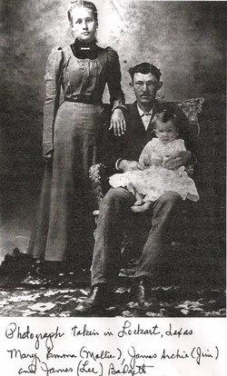 Mary Emma Molly <i>Garrett</i> Badgett