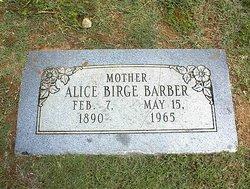 Alice <i>Birge</i> Barber