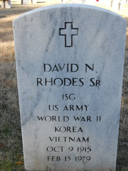 David N Rhodes, Sr