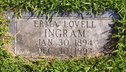 Erma Lovell <i>Royce</i> Ingram