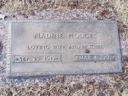 Vivian Nadine <i>Carruth</i> Hodges