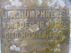 J. A. Humphreys