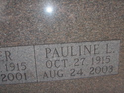Pauline L. <i>Litzenberger</i> Befus